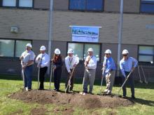 Grand Island CSD Breaks Ground